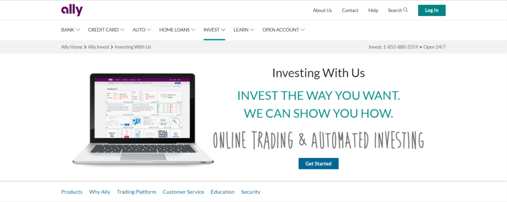 AllyInvest review