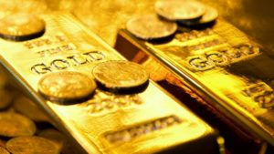Gold Analysis - flag pattern and a possibility of a breakout