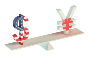 USD dips in relation to JPY