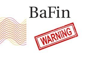 BaFin warning Top Algo Trade