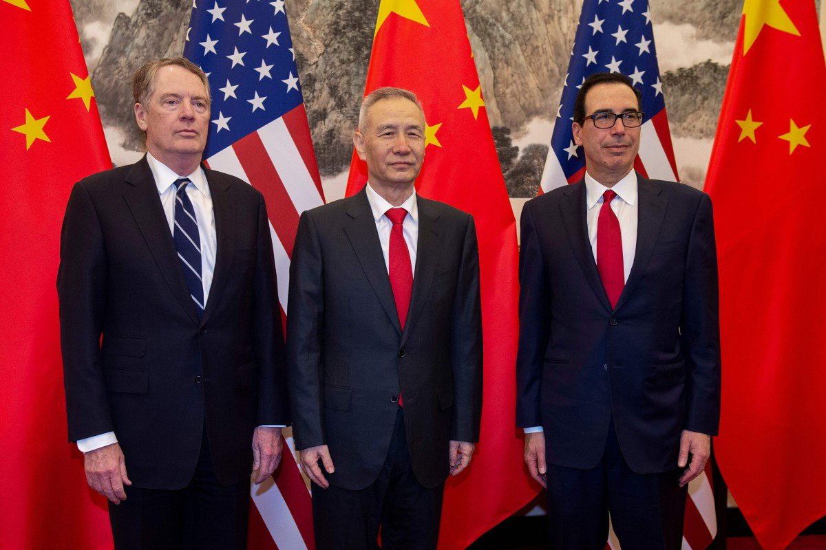 We could be looking at a US-China trade deal by next Friday