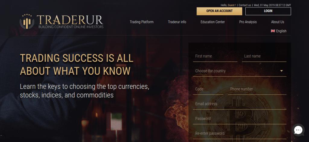 TraderUR Forex broker