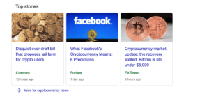 Google Top Stories morning