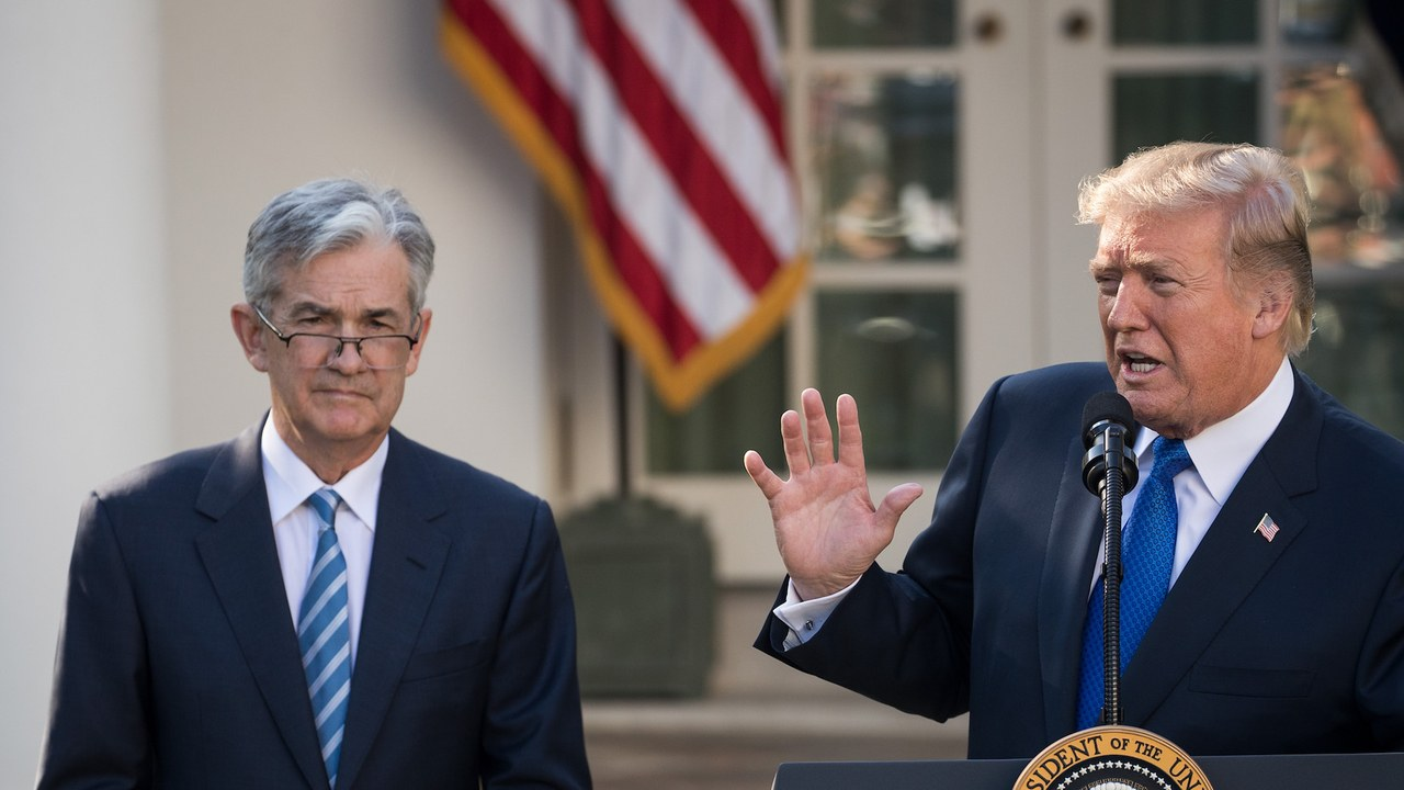 Fed Chairman Jerome Powell announces another cut in the rates
