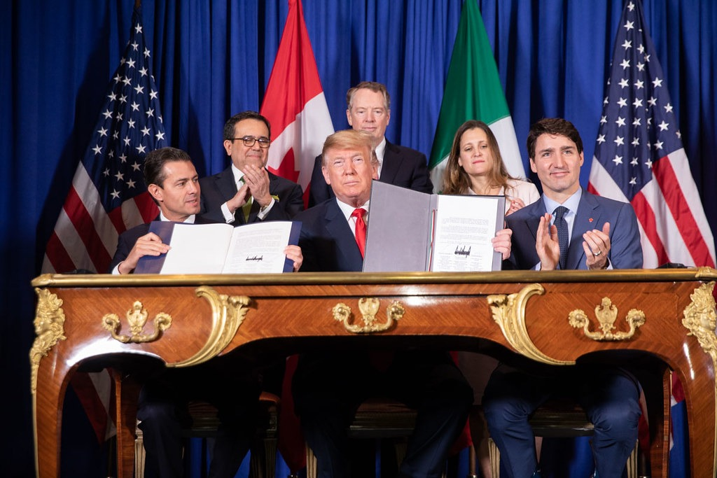 USMCA deal signed in Mexico