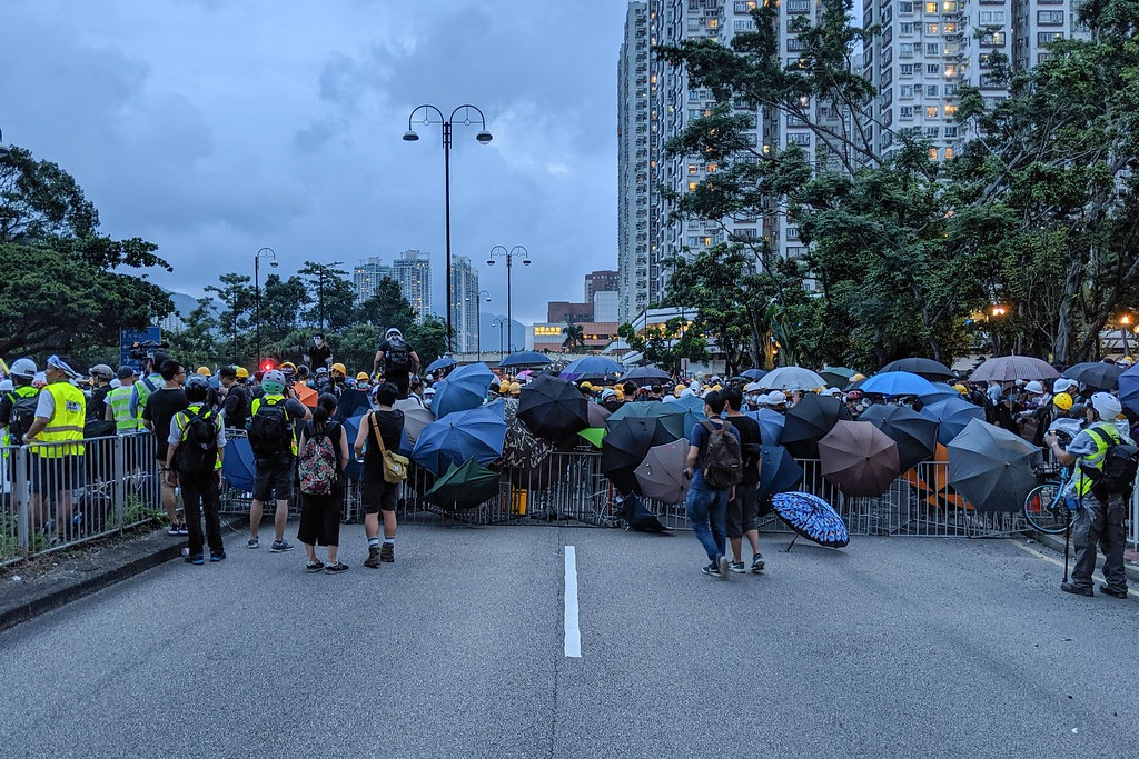Hong Kong's protests cause crisis