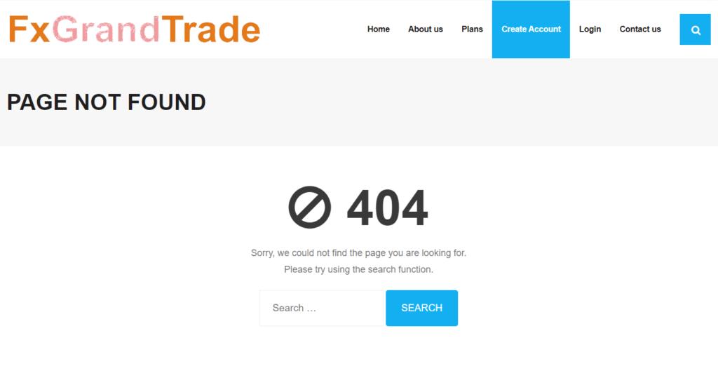 FxGrandTrade scam