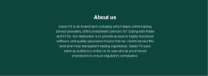 GrandFX Trade scam