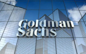 Goldman Sachs Group shares up