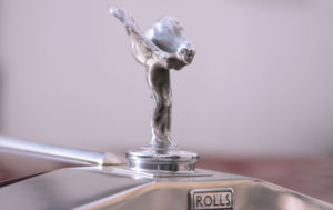 Shares of Rolls Royce are down