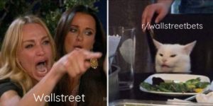 Wallstreet vs Reddit