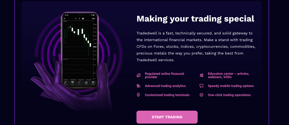 reviewing TradedWell