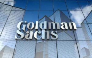 shares of goldman sachs up