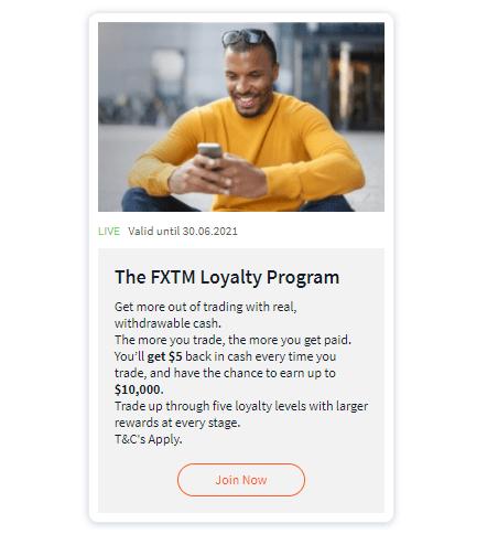 FXTM FX Brokerage