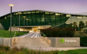 Nvidia shares up
