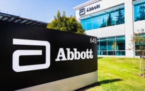 Abbot Lab shares drop