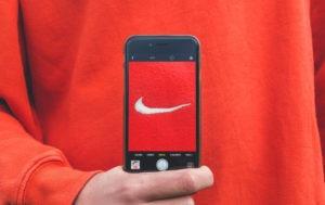 Nike shares up 15%