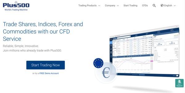 Plus500 forex trading